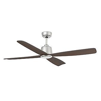 Faro-Molokai Medium Matt Nickel Ceiling Fan mit/Ohne Licht FARO33475