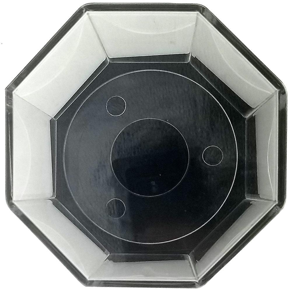 OnDisplay Deluxe UV-Protected Baseball/Tennis/Softball Display Case - Octagon Black Base