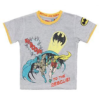 أقمشة النكهات الاطفال باتمان الخام تي شيرت