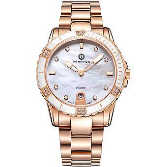 Granton - Influence - Women's Watch - White Rose Gold