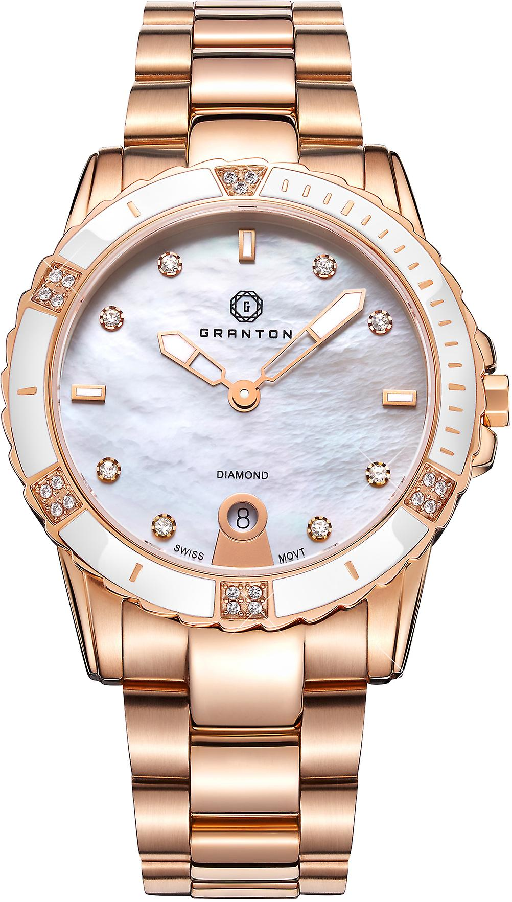 Granton - Influence - Women's Watch - White Rose Gold