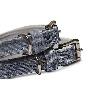 Oh! Collier de chien de denim