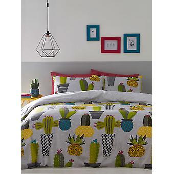 Cactussen enkel Dekbedovertrek en kussensloop set