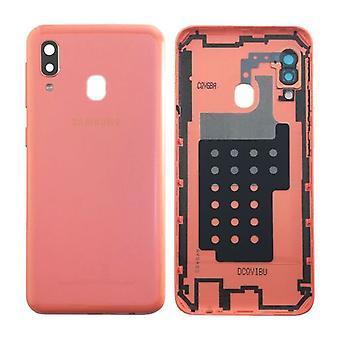 Samsung GH82-20125D κάλυμμα κάλυψης μπαταρίας για Galaxy A20E A202F + αυτοκόλλητη pad κοράλλια New