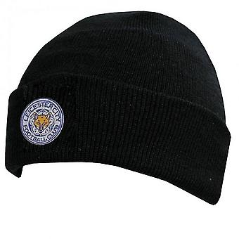 Leicester City FC Official Cuff Knitted Hat