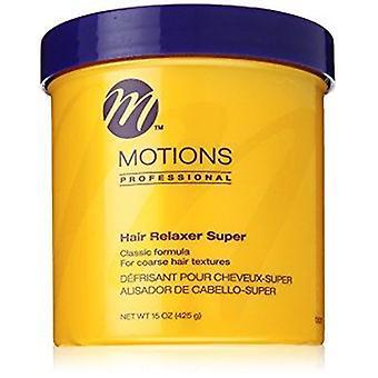 Motioner hår Relaxer regelbundna burk 15oz