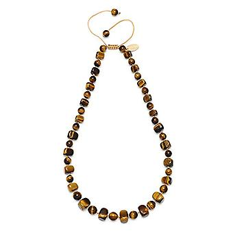 Lola Rose Mobi - Necklace - Color: Yellow Tigers Eye - cod. Mobi492000