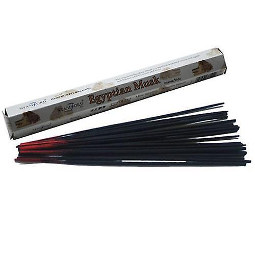 Egyptian Musk Incense Sticks Hexagonal Pack Stamford 20g Box