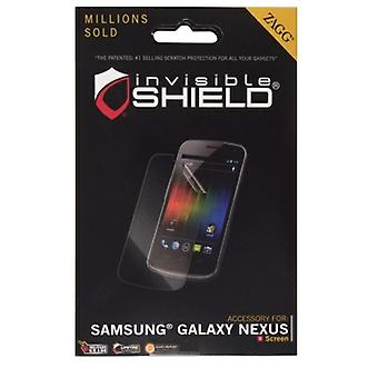 Zagg invisibleSHIELD Screen Protector Samsung Galaxy Nexus
