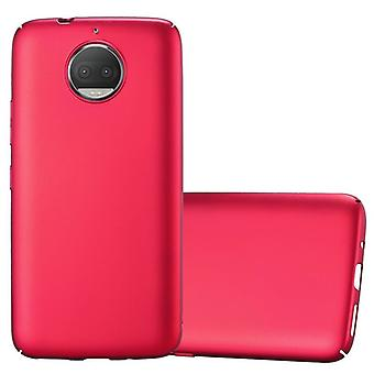 Cadorabo Case voor Motorola MOTO G5S PLUS gevaldekking-hard case plastic telefoon geval tegen krassen en hobbels-beschermende case bumper ultra slanke terug geval harde kaft