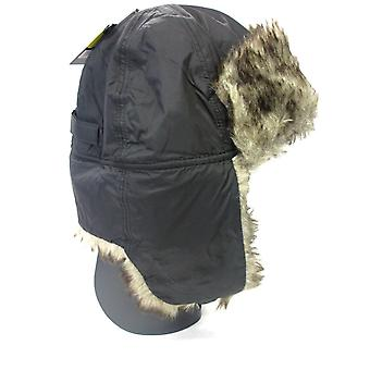 Mens Trapper Hat With Faux Fur GL321