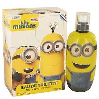 Minions Yellow By Minions Eau De Toilette Spray 1.02 Oz (men) V728-537960