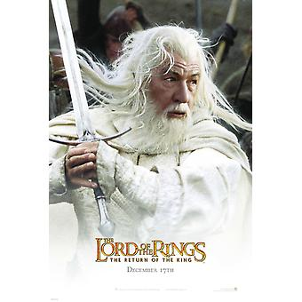 The Lord Of The Rings: The Return Of The King (Double Sided Advance - Gandalf) Original Cinema Poster