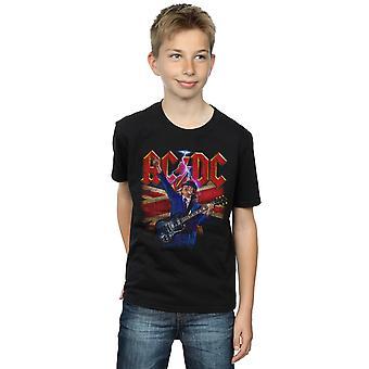 AC/DC hoši Angusi Union vlajka blesk T-tričko