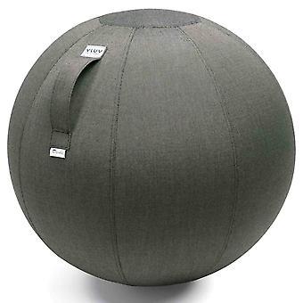 Vluv Aqva Outdoor-Sitzball Durchmesser 60-65 cm Charcoal / Dunkelgrau