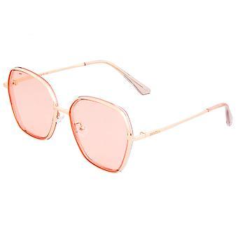 Bertha Emilia óculos polarizados-Rose Gold/Pink