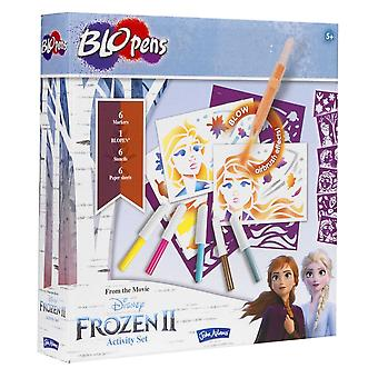 John Adams Frozen II Blo pennen Activiteitsset
