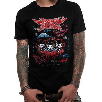 Babymetal-sort pixel Tokyo T-shirt