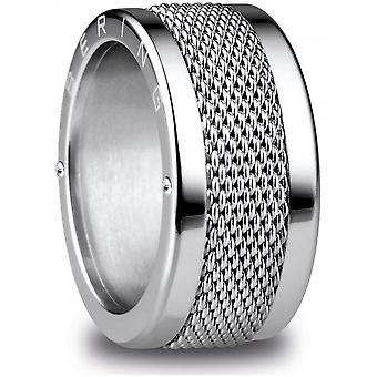 Bering - combination ring - unisex - Arctic Symphony - Chicago_11 - size 65 (20.6 mm)