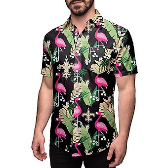 New Orleans Saints HAWAII FLORAL Shirt Short Sleeve Shirt