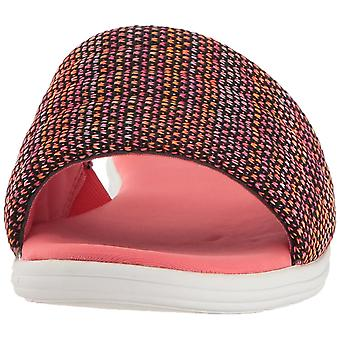Aerosoles Womens Great Call Fabric Open Toe Casual Slide Sandals