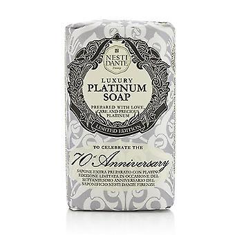 Nesti Dante 7070 Anniversario Di lusso Platinum Soap Con Precious Platinum (edizione limitata) - 250g/8.8oz