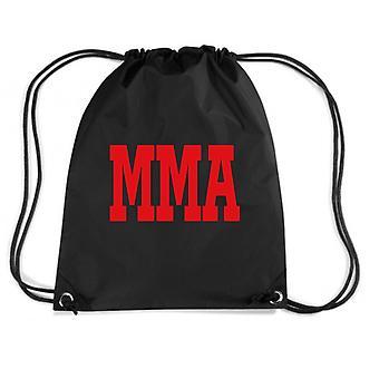 Black backpack dec0217 mma martial arts