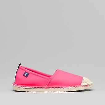 Joules Ocean Flipadrille Ladies Neoprene Beach Chaussures Rose Vif
