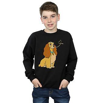 Disney jongens Lady en de Tramp Lady spaghetti hart Sweatshirt