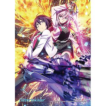 Fabric Poster - Asterisk War - Key Art Wall Art Licensed ge79672