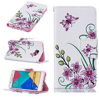 Galaxy A5 Case (2016) Flowers And Butterflies Pattern - Crazy Kase