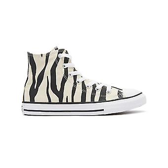 Converse All Star Archive Youth Zebra / White Hi Trainers