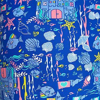 Zoggs Undersea Girl's Actionback Ein Stücke Badeanzug in blau / Multi