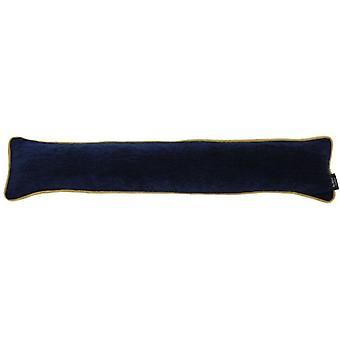 Mcalister Textilien alston chenille navy blau + gelb tief
