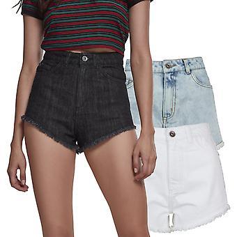 Urban Classics doamnelor-pantaloni scurți din denim