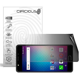 Celicious Privacy 2-Way Landscape Anti-Spy Filter Screen Protector Film Compatible with BLU Life One X2 Mini