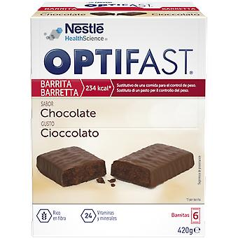 Optifast Chocolate Barrita 6 x70 gr