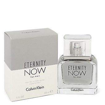 Eternity now eau de toilette spray by calvin klein 548259 30 ml