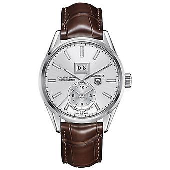 Tag Heuer Carrera Calibre 8 GMT en cuir Mens Watch WAR5011. FC6291