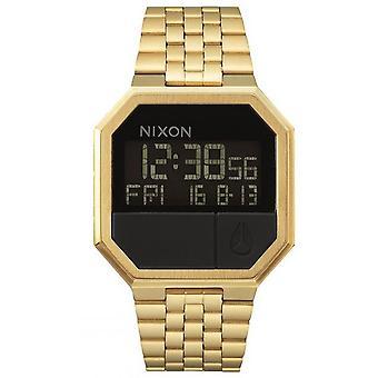 Nixon Assista A158-502-00-RE-RUN pulseira de aço dor Bo Tier aço dor Carr homens/mulheres