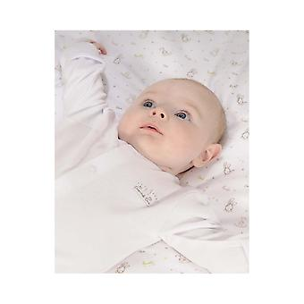 Essential One Essential White Unisex Baby Sleepsuit - 3'lü Paket