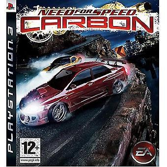 Ανάγκη για ταχύτητα άνθρακα PS3 παιχνίδι