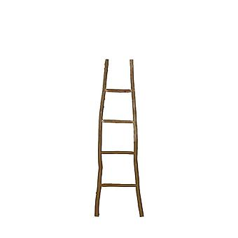 Light & Living Wall Rack 42x4x150cm Ladder Yellow