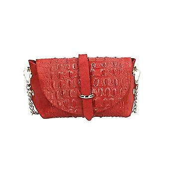 Sacs Chicca 10031 Red Women's Shoulder Bag 18x11x8 cm (W x H x L)