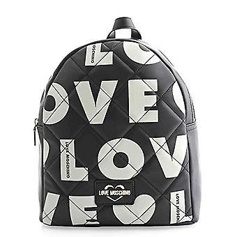 Love Moschino Bag Matt Nappa Pu Black Women's Shoulder 31x29x12 cm