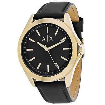Armani Exchange Men's Classic Black Watch - AX2636