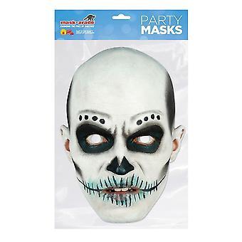 Bristol Novelty Day of the Dead Skull Card Masque