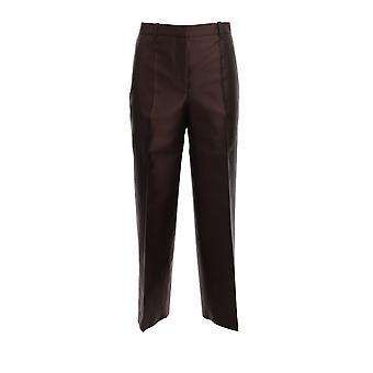 Givenchy Bw50gq12mn206 Pantalons en laine brune