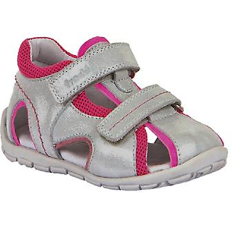 Froddo Girls G2150120-2 Sandals Silver Grey Pink