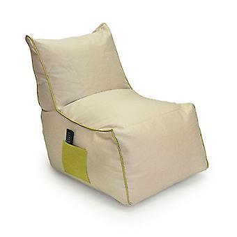 Loft 25 Modern Style Sand 'Finley' Bean Bag Stuhl mit Aufbewahrungstasche